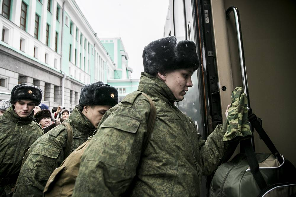 More than 115,000 draftees, or 75.2% of the planned number, are already taken for military service in the Russian Armed Forces during this draft period that began on October 1 and will last till December 31