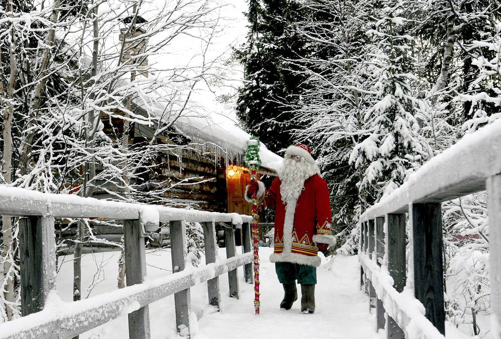 Ded Moroz, or Grandfather Frost, the Slavic version of Santa Claus, is a key figure of the New Year celebrations in Russia.  His birthday is usually marked on November 18