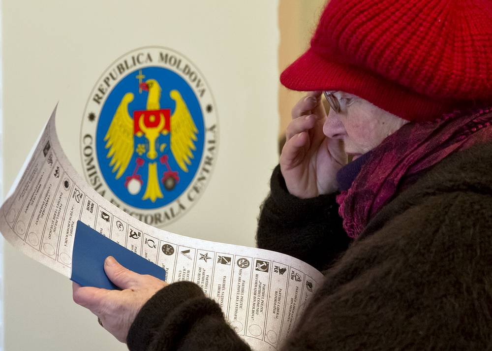 Two parties supporting Eurasian integration lead in Moldova's parliamentary elections, according to preliminary results from the Moldovan Central Election Commission