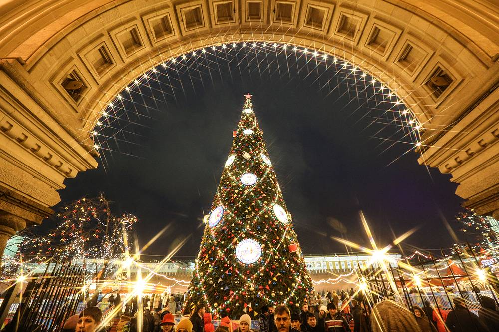New Year tree on the Red Square