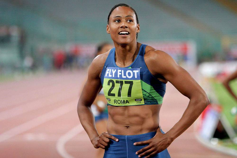 US athlete Marion Jones won 3 gold medals at the 2000 Summer Olympics in Sydney, Australia, but was later stripped of the titles after admitting doping