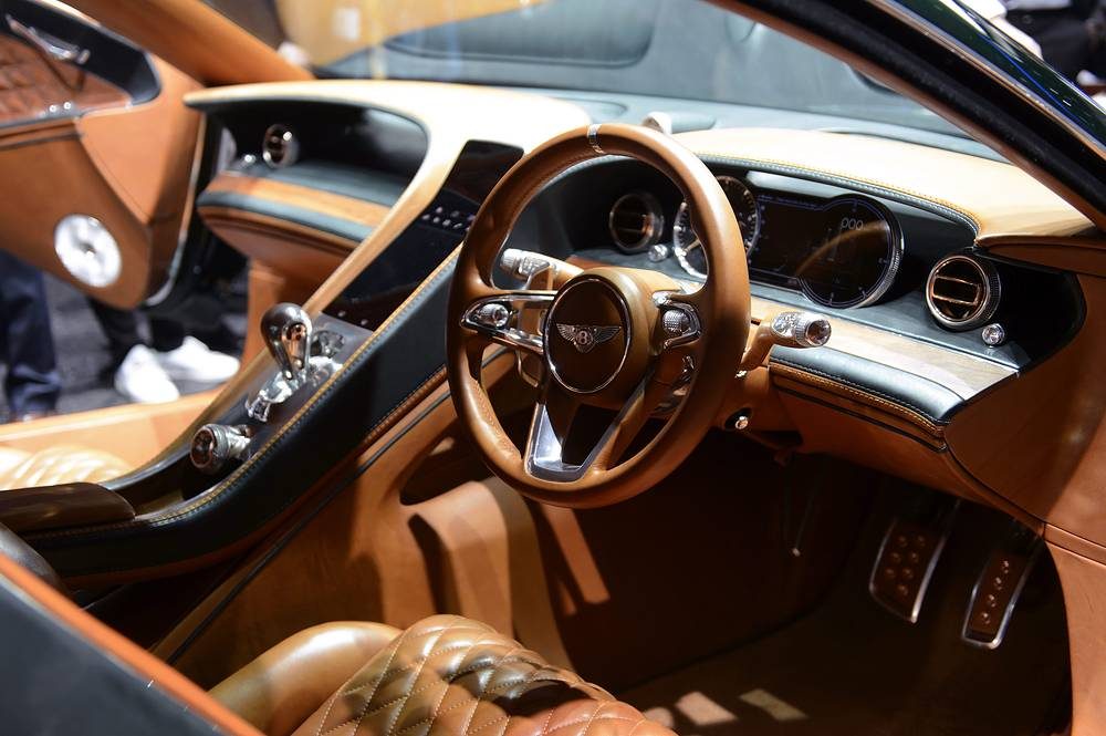 An interior view of the new Bentley EXP 10 Speed 6 Concept