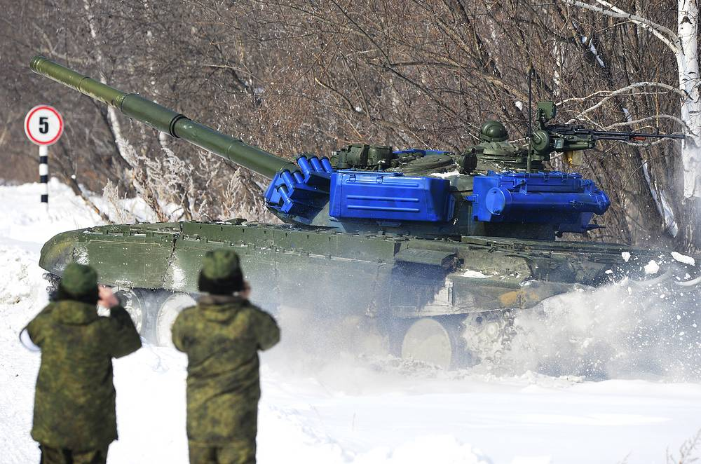 First international Tank biathlon competition was held in August 2013 in Alabino