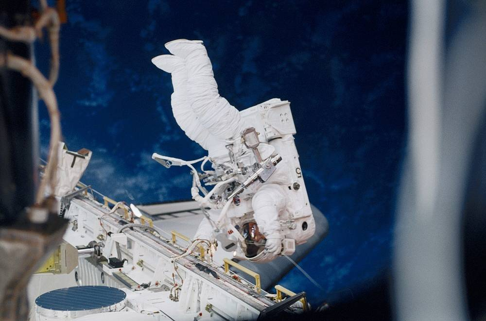 In 2001 NASA astronauts Susan Helms and Jim Voss conducted an 8 hour and 56 minute spacewalk, the longest to date