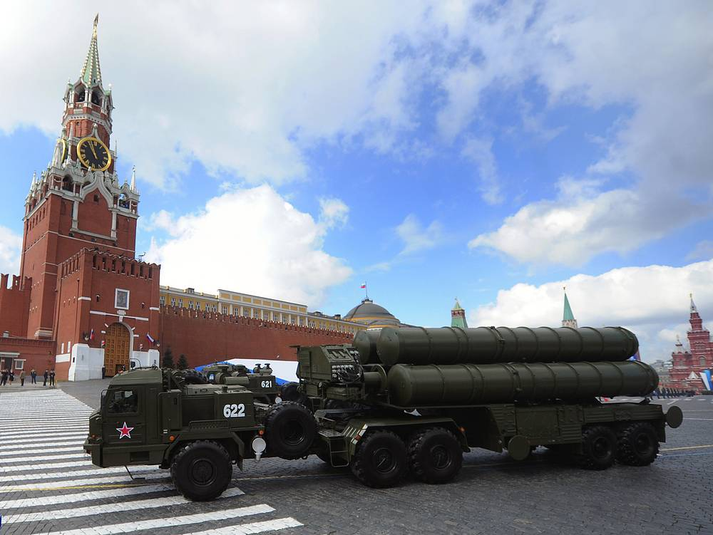 S-400 is currently in limited service with the Russian Armed Forces. Photo: S-400 missile system in the Red Square during the Victory Day military parade