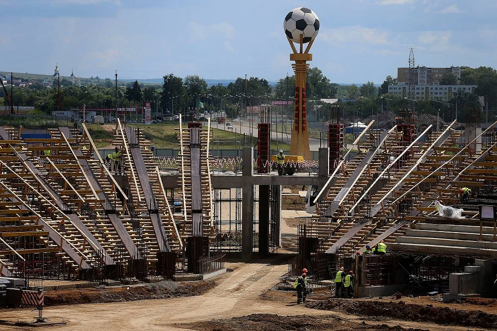 Saransk stadium capacity is expected to be 45 thousand spectators