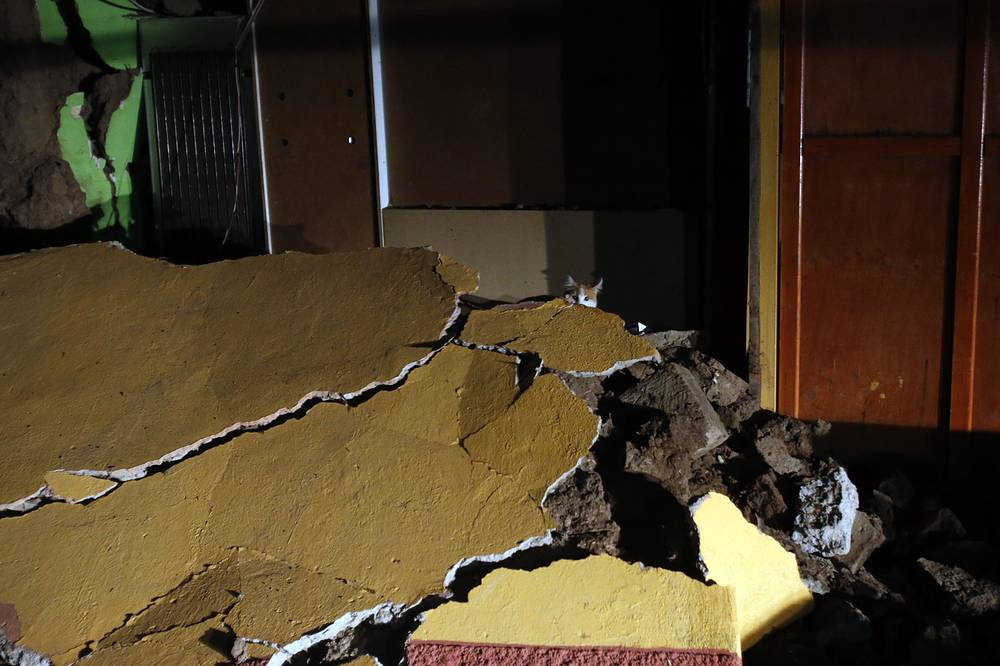 The quake had the depth of 11 kilometers and was followed by at least 15 aftershocks