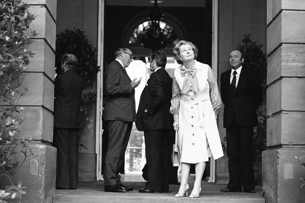 She became Prime Minister after winning the 1979 general election. Photo: Margaret Thatcher in Strasbourg, 1979