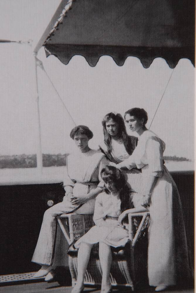Daughters of Nicholas II, Anastasia, Tatiana, Maria and Olga