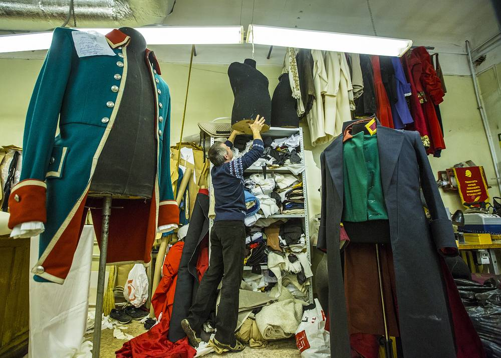 Mariinsky Theater сostume sewing room