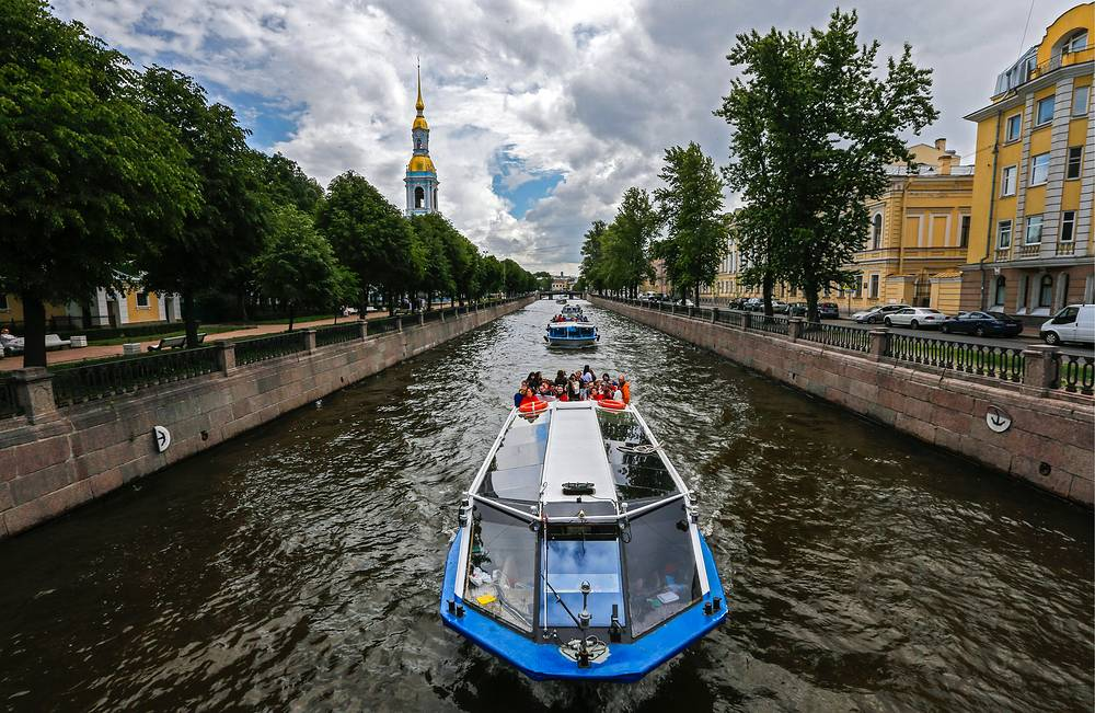 Kryukov Canal in St. Petersburg