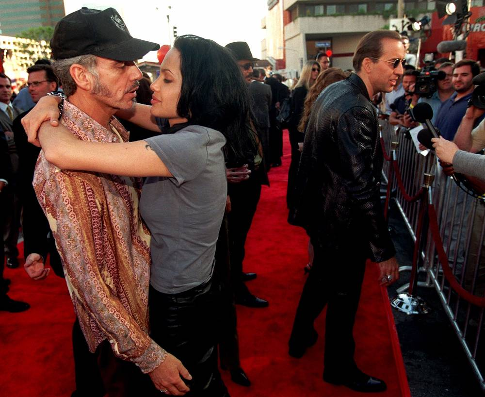 Angelina Jolie and Billy Bob Thornton were married from 2000 to 2003