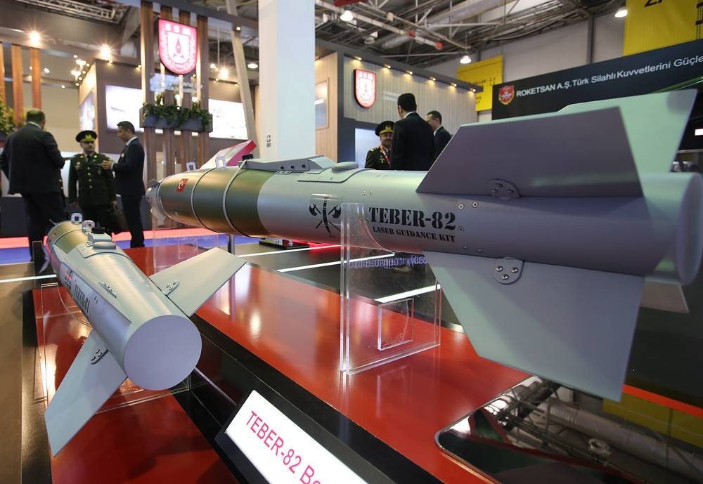 Teber-82 laser guided bomb kits