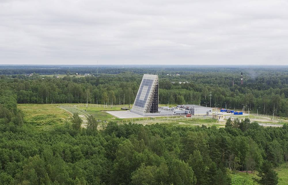 Voronezh radars are the current generation of Russian early-warning radar, providing long distance monitoring of airspace against ballistic missile attack. Photo: Voronezh radar station in Leningrad region