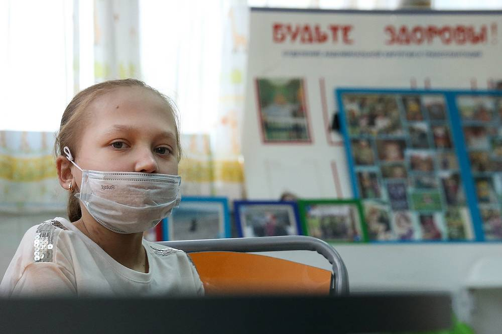 13-year-old patient Ekaterina Matveeva
