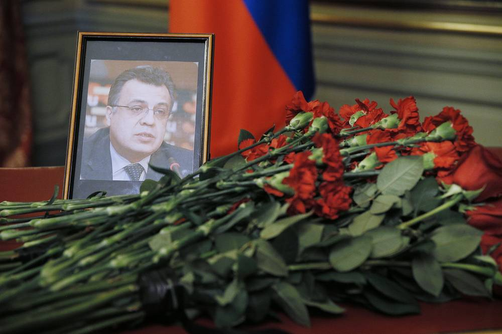 Russian ambassador to Turkey Andrei Karlov was shot dead at the opening of an exhibition at an art gallery in Ankara on December 19. He was 62