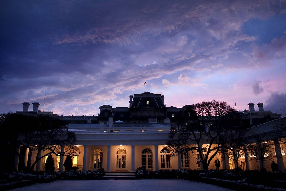 The White House is the official residence and principal workplace of the President of the United States. Construction of the mansion took place between 1792 and 1800. Thomas Jefferson moved into the house in 1801