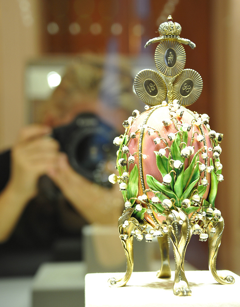 In 2004, Russin businessman Viktor Vekselberg paid over $100 mln to purchase nine Faberge eggs. In 2013 he opened Faberge egg museum in Saint Petersburg.