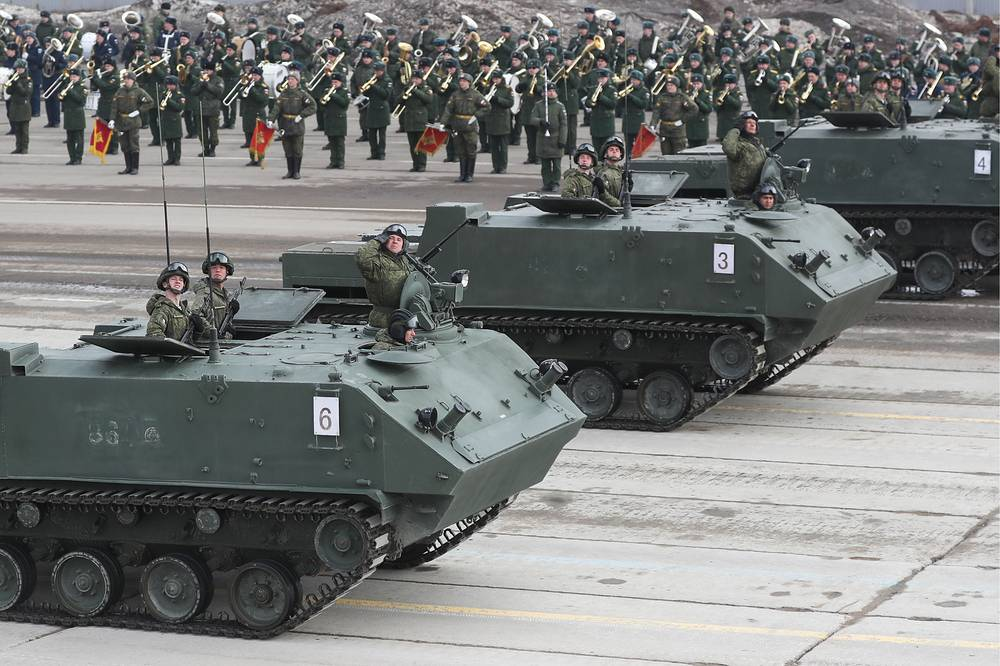 Rakushka armoured personnel carriers