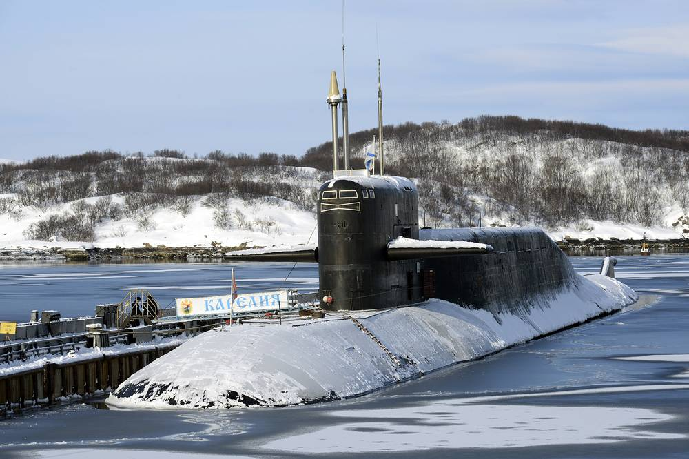 K-18 Karelia nuclear-powered strategic missile submarine