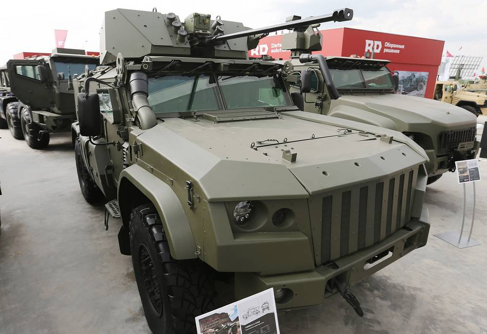 Taifun K-4386 armored vehicle