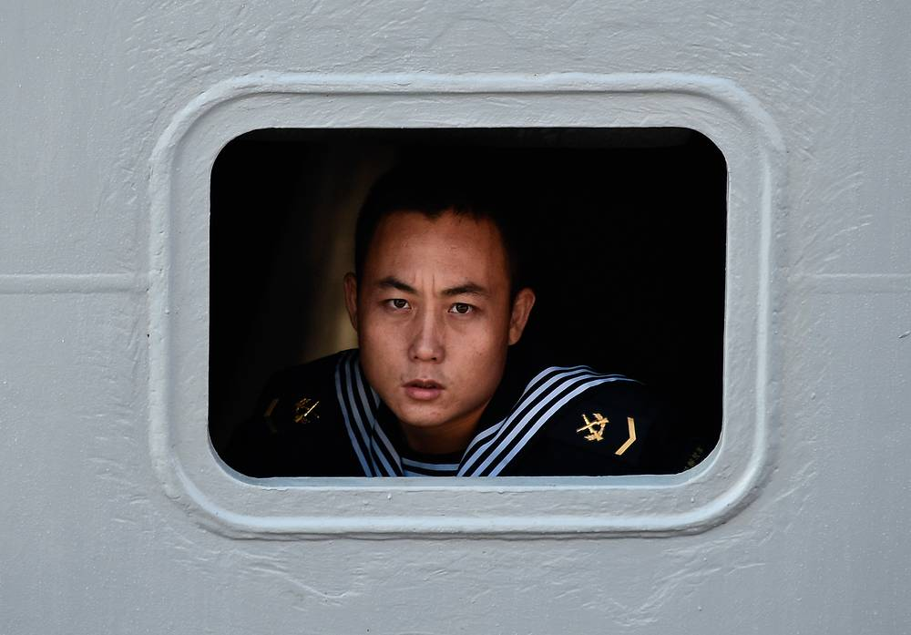 Chinese Navy officer