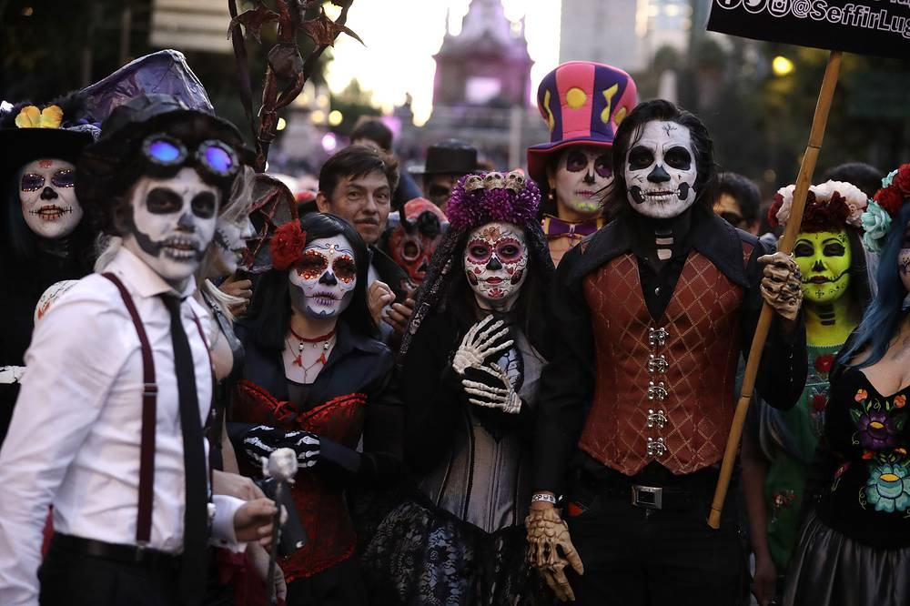 The Calavera Catrina, or 'Dapper Skeleton', is the most representative image of the Day of the Dead