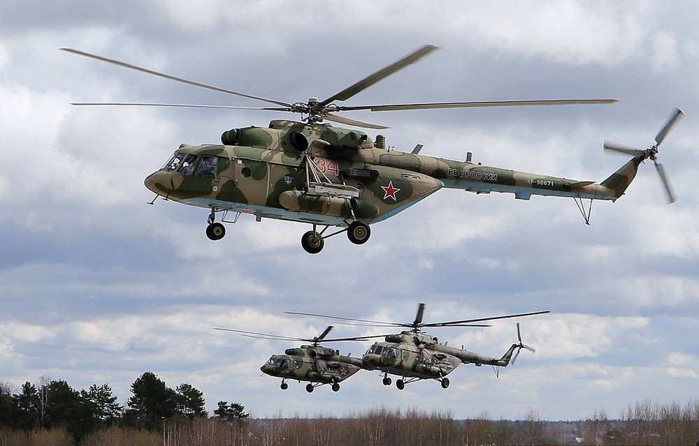 Mi-8 helicopter. Mi-8 is used as a transport helicopter, an airborne command post, armed gunship, and reconnaissance platform. It is among the world's most-produced helicopters, used by 92 countries