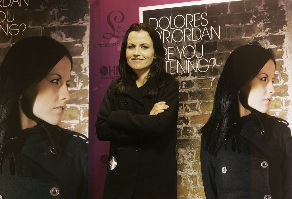 "Dolores O'Riordan promoting her solo album titled ""Are You Listening?"" in Hong Kong, 2007"