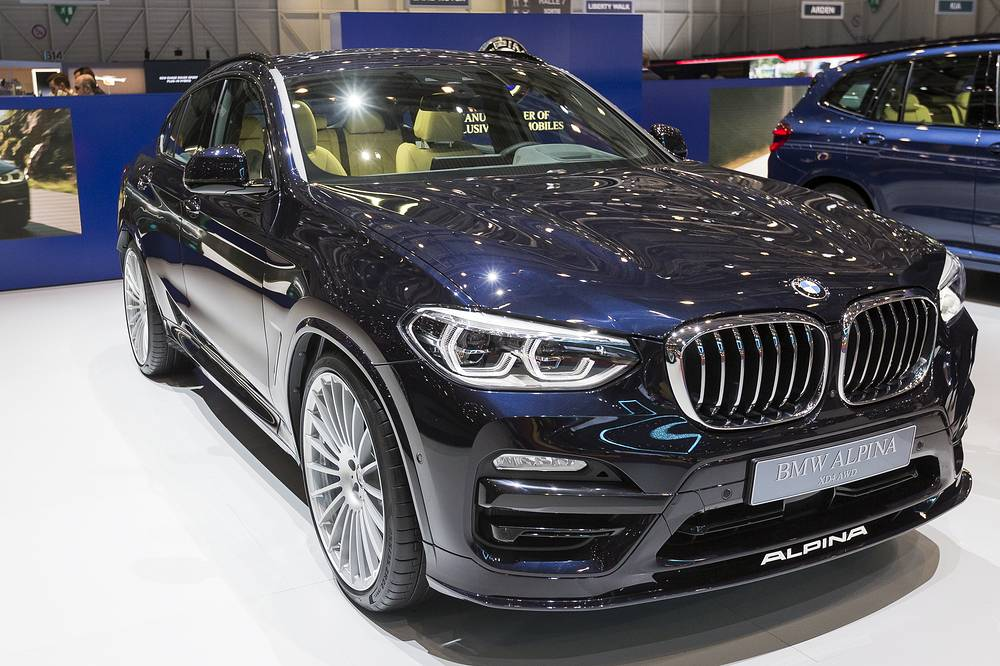 New BMW Alpina XD3