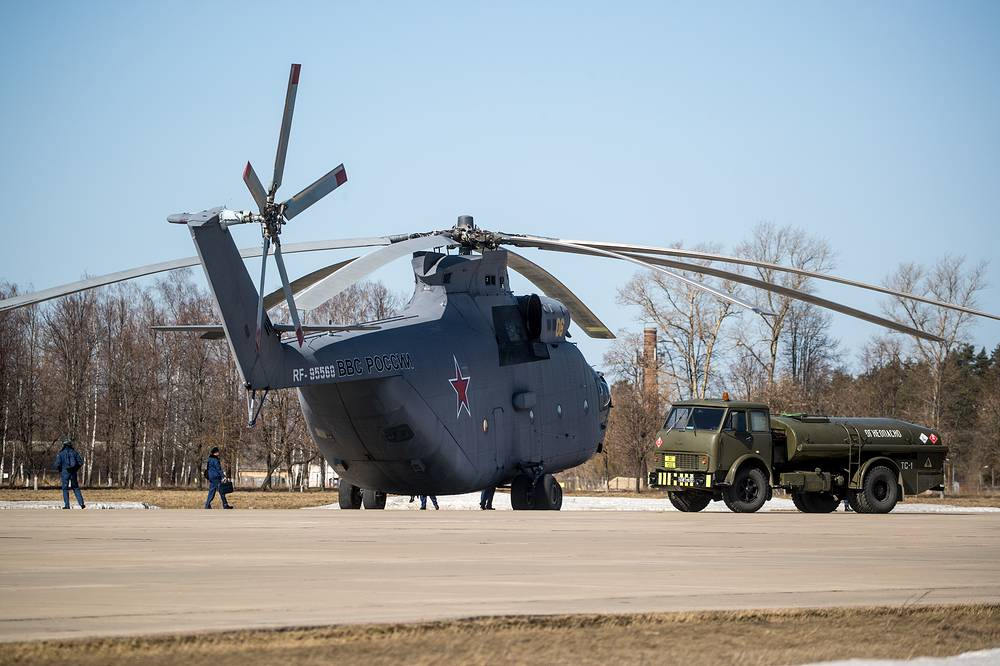 Mil Mi-26 heavy transport helicopter