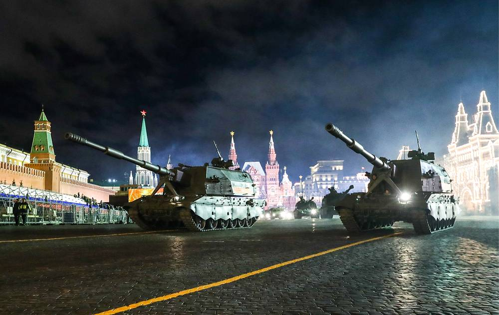 Msta-S self-propelled 152 mm howitzers