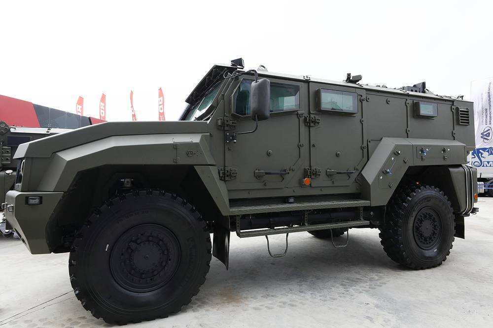 Taifun K-53949 armoured vehicle