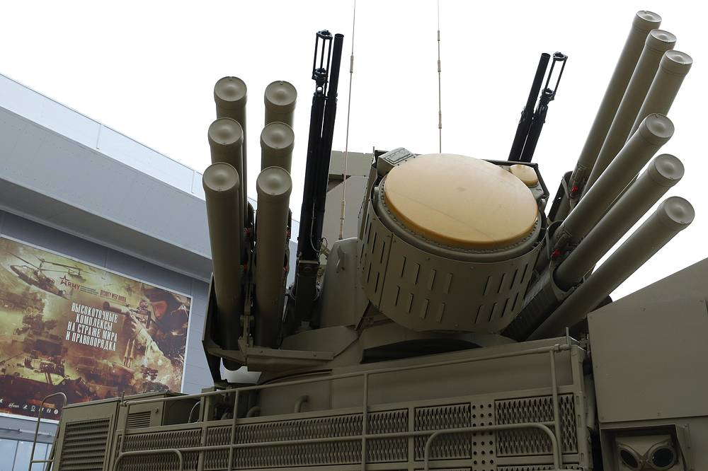 Pantsir-S1 self-propelled anti-aircraft artillery system