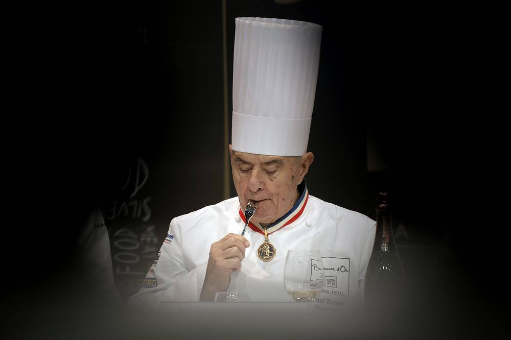 Paul Bocuse, a master of French cuisine, died aged 91 on January 20