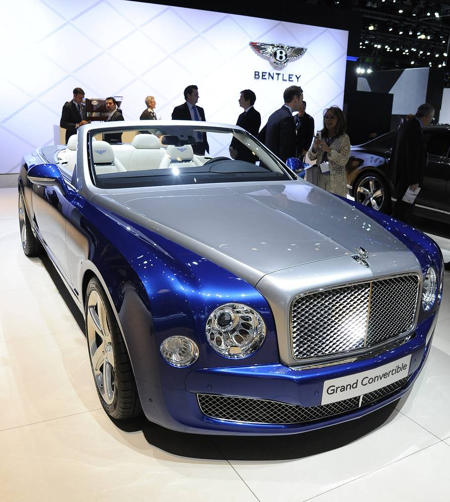 Концепт-кабриолет Bentley Grand Convertible Concept