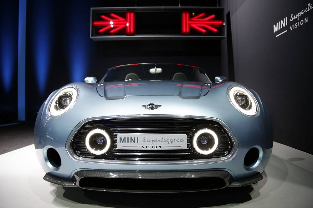 Концепт Mini Superleggera Vision