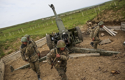 Azerbaijan reports 13 ceasefire violations by Armenia in Nagorno-Karabakh