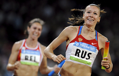 Russian sports minister regrets national team stripped of 2008 Olympic relay gold