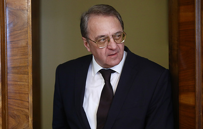 Russian diplomat discusses Syria's constitutional committee with Syrian opposition member