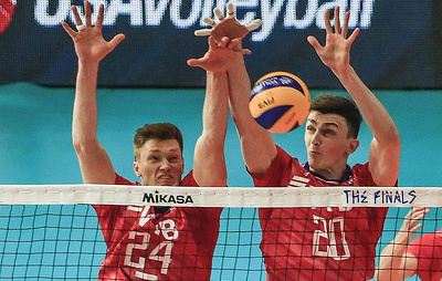 Russian men's volleyball team to play with US in Nations League finals