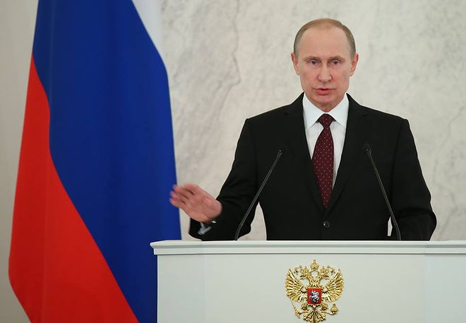 Putin's state-of-nation address to Federal Assembly