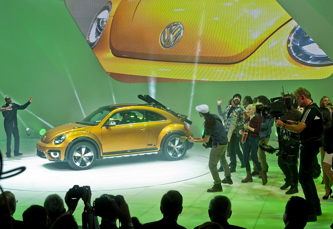 VW Beetle Dune off-road version