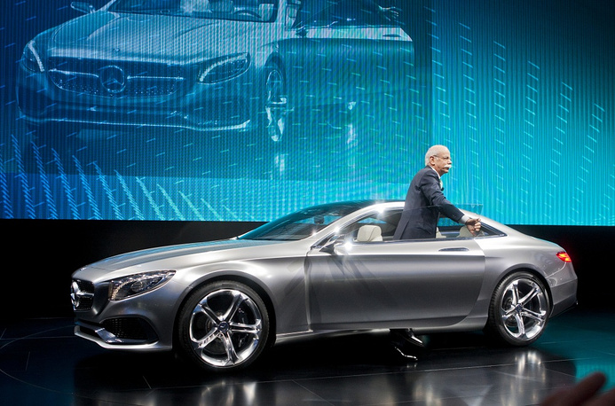Daimler AG Board Chairman Dieter Zetsche at Mercedes S-Class Coupe presentation
