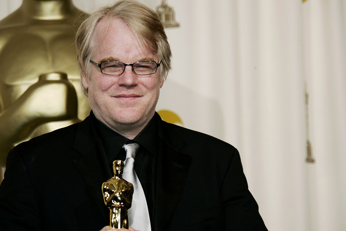 """In 2006 In 2006 Philip Seymour Hoffman received an Oscar for best actor for his work in """"Capote"""""""