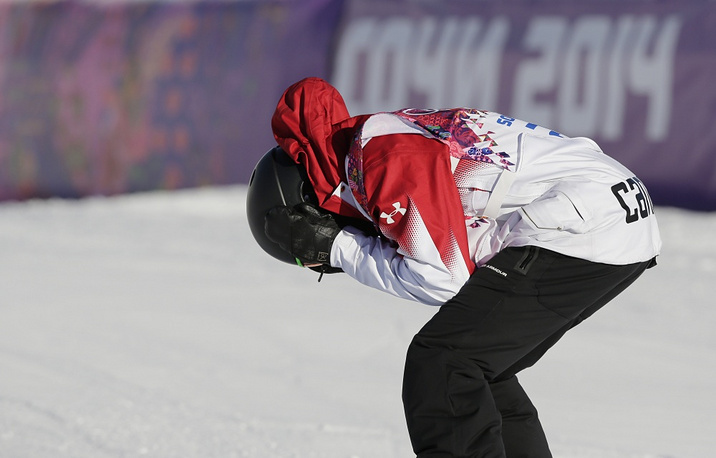 Canadian snowboarder Mark McMorris got the bronze in snowboarding slopestyle
