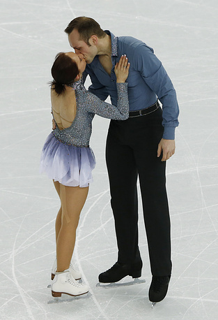 Figure skaters Maylin Wende and Daniel Wende of Germany got married in June 2013