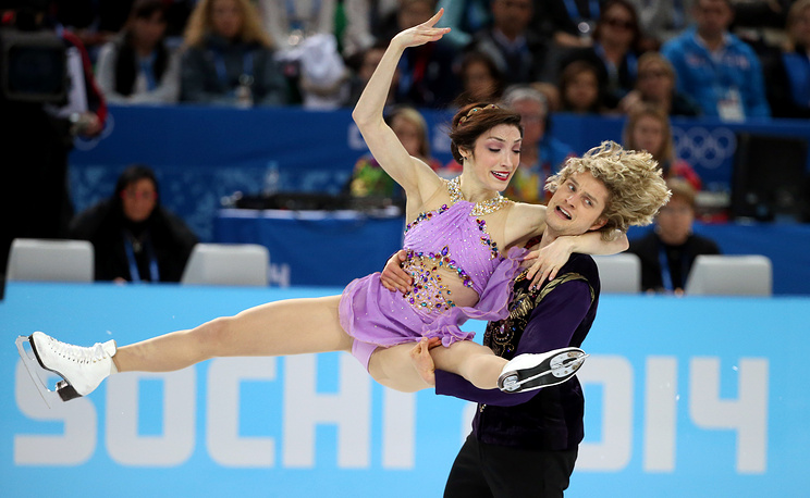 Meryl Davis and Charlie White of USA