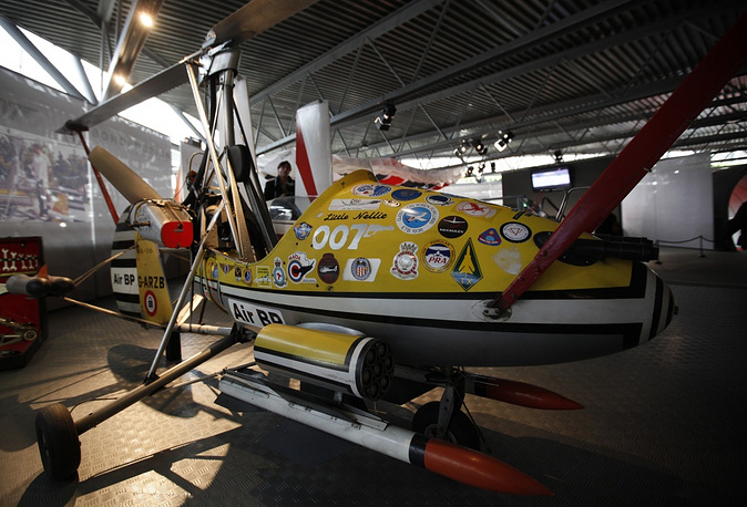 The autogyro called Little Nellie that featured in the James Bond movie You Only Live Twice