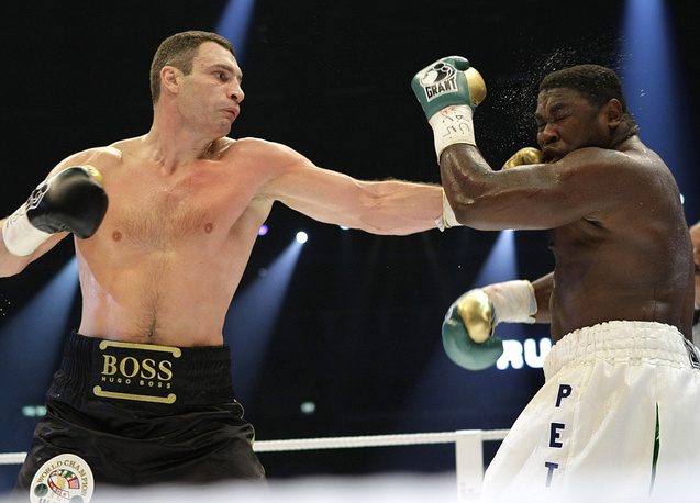 On October 11 2008 Klitschko won the WBC heavyweight boxing world championship in Berlin. Klitschko won the fight against Samuel Peter after round nine by technical knock out